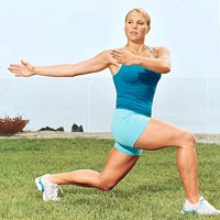 Lunge Twist workout