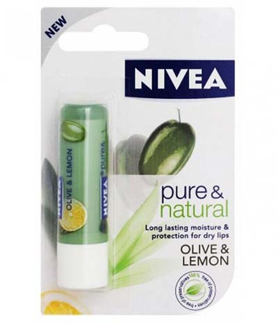 Nivea Pure & Natural, Olive and Lemon