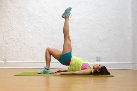 Pilates for Toned Thighs Exercise