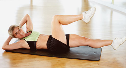 Twist crunches Exercise