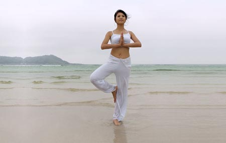Yoga for Toned Thighs