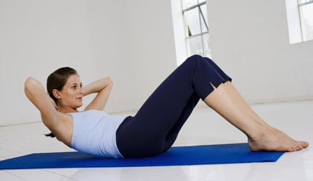 Basic Crunch Exercise