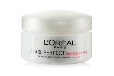 Loreal Paris Pearl Perfect Transparent Rosy Fairness day cream