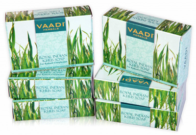 Vaadi Royal Indian Khus Soap With Olive & Soyabean Oil