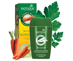 Biotique Bio Aloevera Face Body Sun Lotion