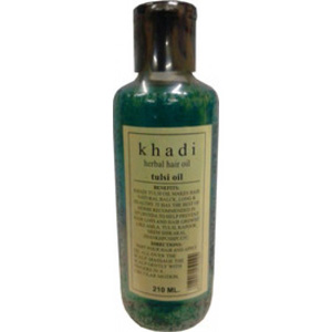 Khadi Tulsi Hair Growth Oil