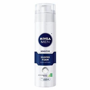 Nivea For Men Sensitive Shaving Foam