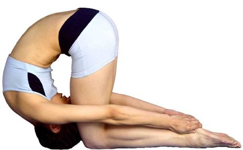 Shashankasana pose Yoga