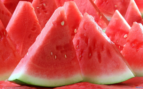 watermelon Healthy fruits