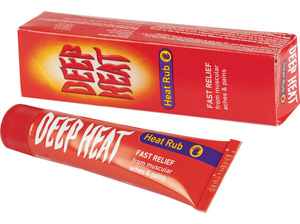 Deep Heat Rub fast Relief