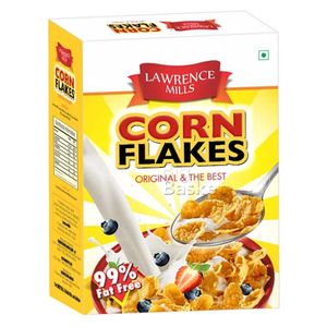 Lawrence Mills corn flakes