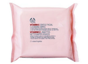 The Body Shop Vitamin E Gentle Facial Cleansing Wipes