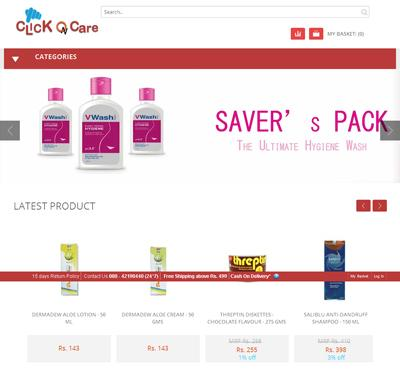 clickoncare-health-store
