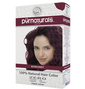 Purnaturals Burgundy Natural Hair Color