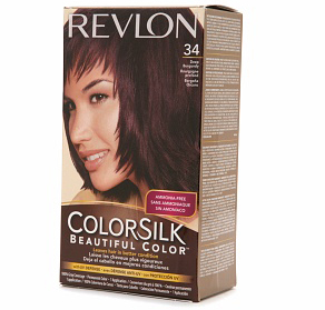 Revlon Colorsilk Beautiful Color, 34 Deep Burgundy