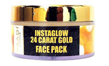 Vaadi Instaglow 24 Carat Gold Facial Kit