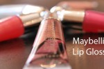 Top Maybelline Lip Glosses