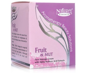 Nature's Essence Fruit Nut Face Massage Cream