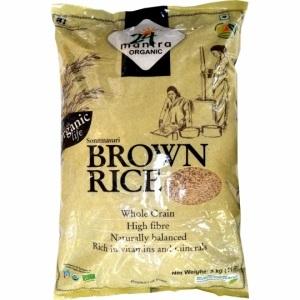 24Mantra Sonamasuri Organic Brown Rice
