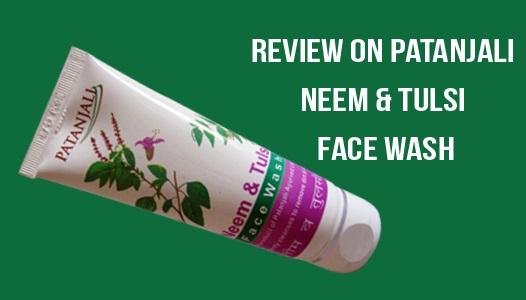 Baba Ramdev Patanjali Neem and Tulsi Face Wash