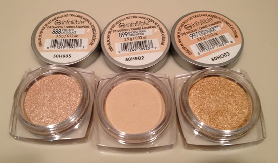 L'oreal Paris Infallible Eyeshadow Eternal Sunshine
