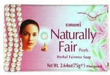Emami Naturally Fair Pearls Herbal Fairness Soap