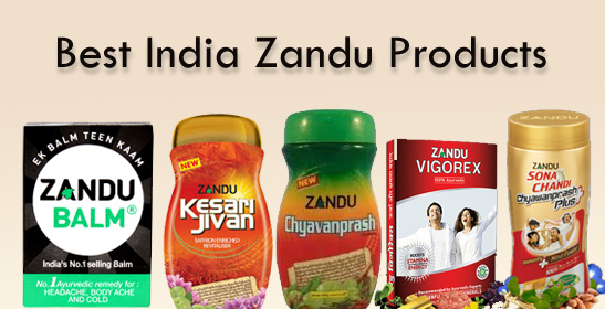 Best Zandu Products in india