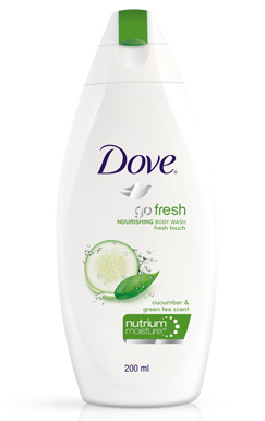 Dove Body Wash Fresh Moisture