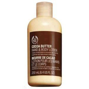 The Body Shop Cocoa Butter Hand and Body Lotion