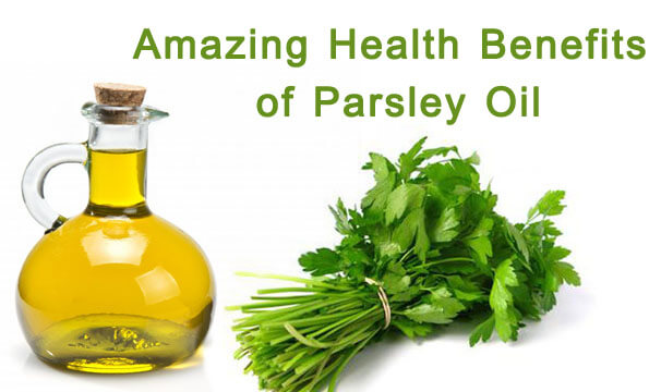 Health Benefits of Parsley Oil