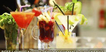 Best low calorie Indian summer cocktails
