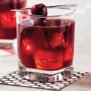 Cherry Smash low calorie summer cocktail