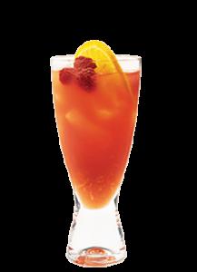 Cran Razzy low calorie summer cocktail