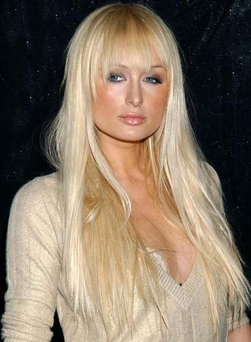 Paris Hilton Weave Hairstyles