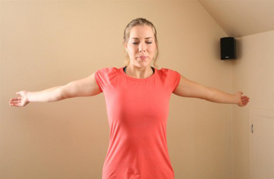 Arm rotations Breast Exercise