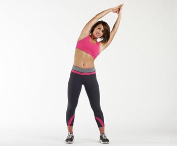 Bending side to side exercise