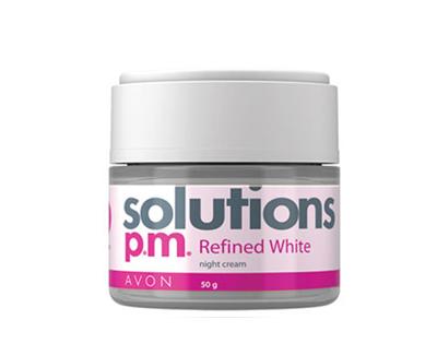 Avon Solutions Refined White Night Cream