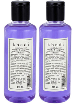 Khadi Lavender & Ylang Ylang Herbal Body Wash