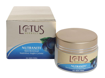 Lotus Herbals Nutranite Night Cream
