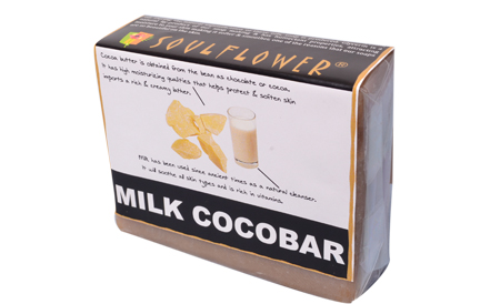 Soulflower Milk Cocobar Veg Organic Soap