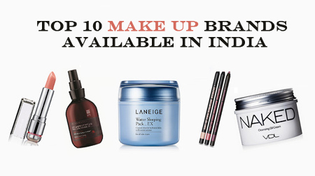 Top 10 Best MakeUp Brands available in India