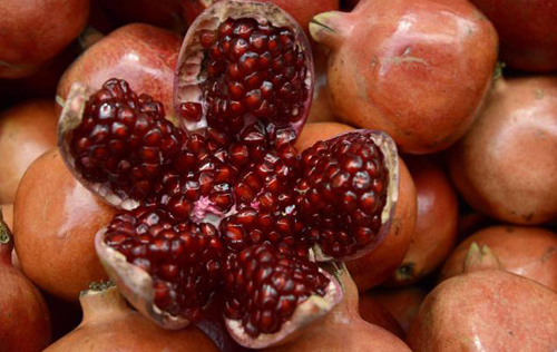 Pomegranates fruit