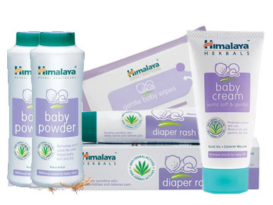 Himalaya baby care products
