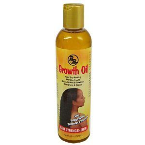 Bronner Brothers Growth Oil Hair Strengthener 8 Oz