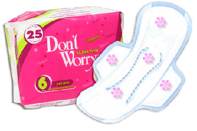 Don't Worry Sanitary Pads