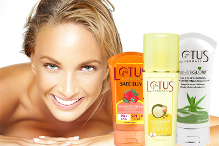 Most effective Lotus Herbals Products for Skin Care in India
