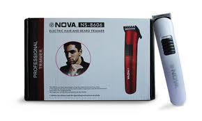 Nova Rechargeable Hair Trimmer Professional Razor Shaving Machine
