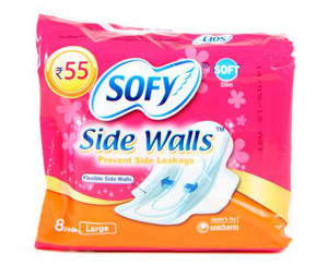 Sofy Side Walls Sanitary Napkin