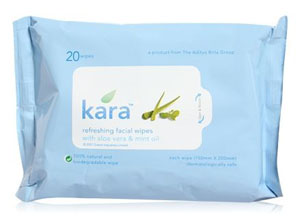 Kara Refreshing Facial Wipes