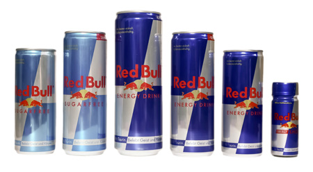 top Red Bull Energy Drinks